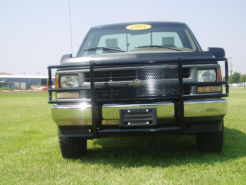 Brush Guard For Chevy Silverado >> Chevy Truck Grill Guards by The Perry Company | The ...